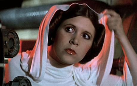 Star Wars Carrie Fisher Leia
