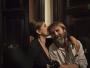 """Francesco Amato con Carla Signoris sul set di """"Lasciati andare"""""""