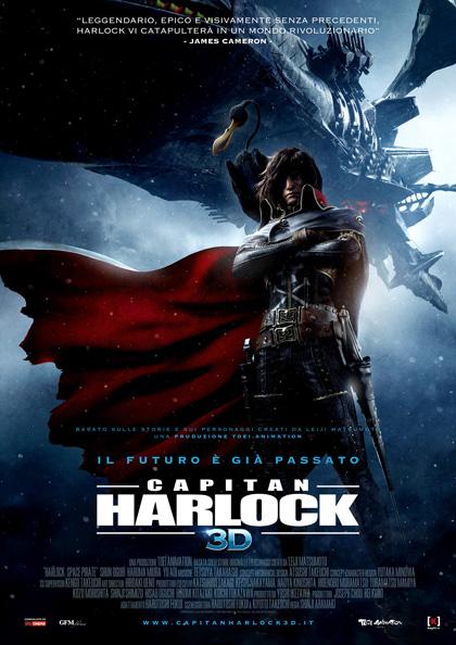 Capitan Harlock 3 D