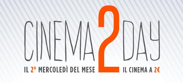 Al cinema a 2 euro con Cinema2Day