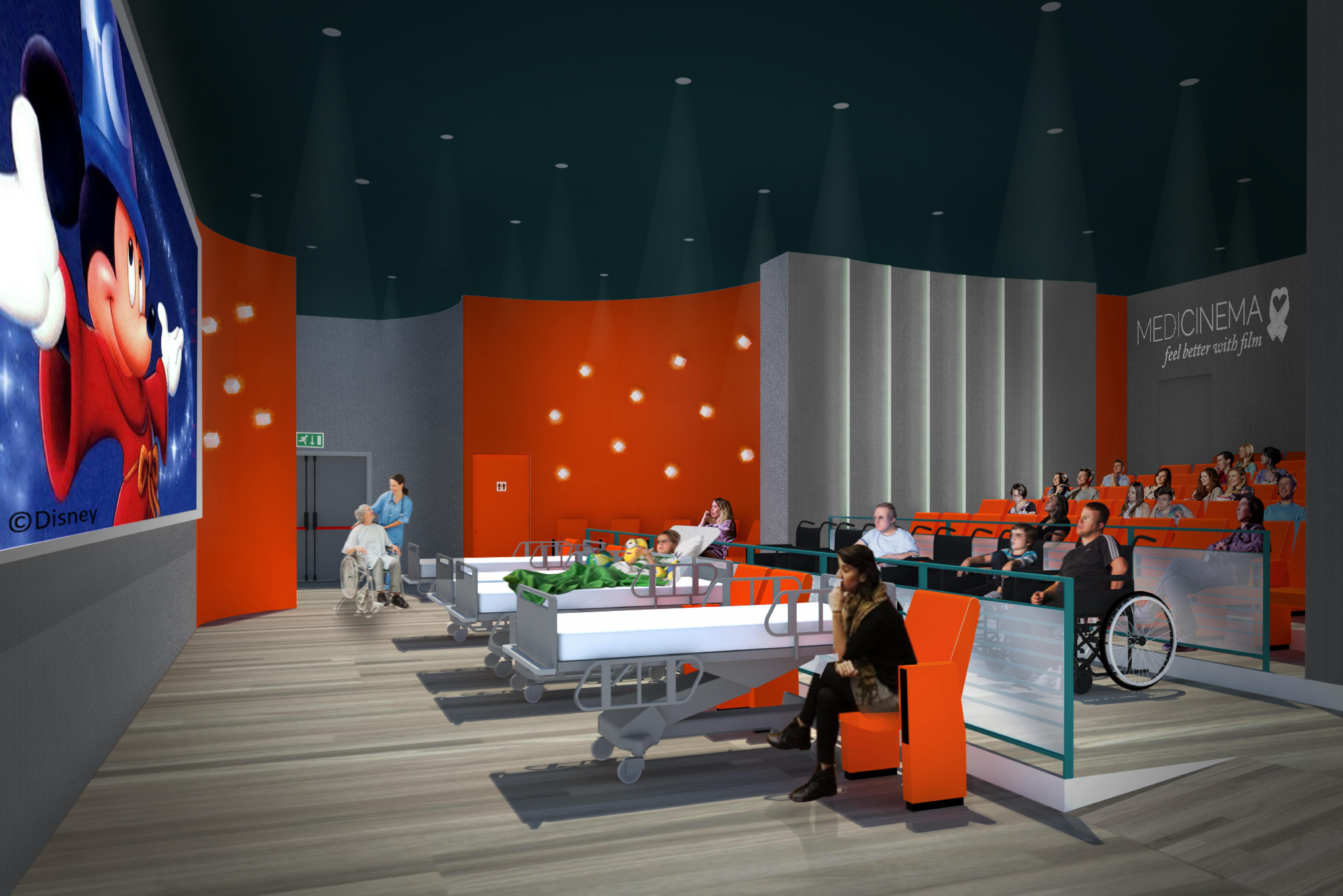 MediCinema, al Niguarda di Milano una nuova sala sensoriale