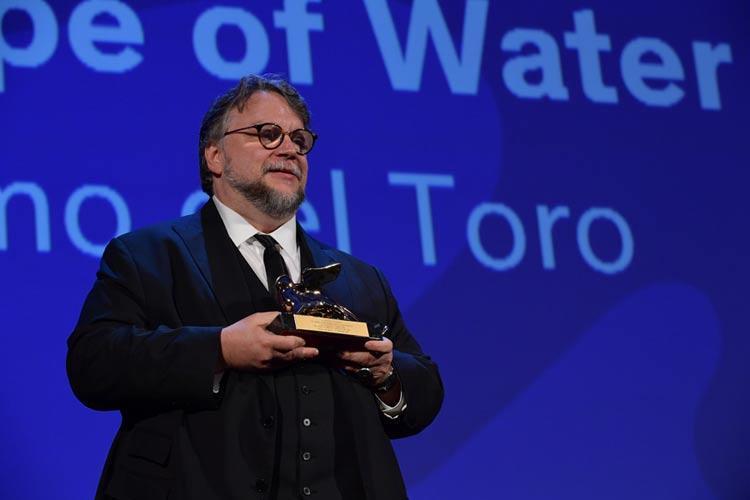 Venezia, la vittoria di Guillermo del Toro