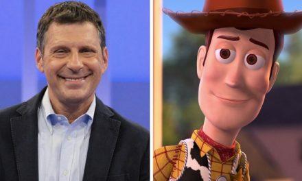 Frizzi, la voce di Woody