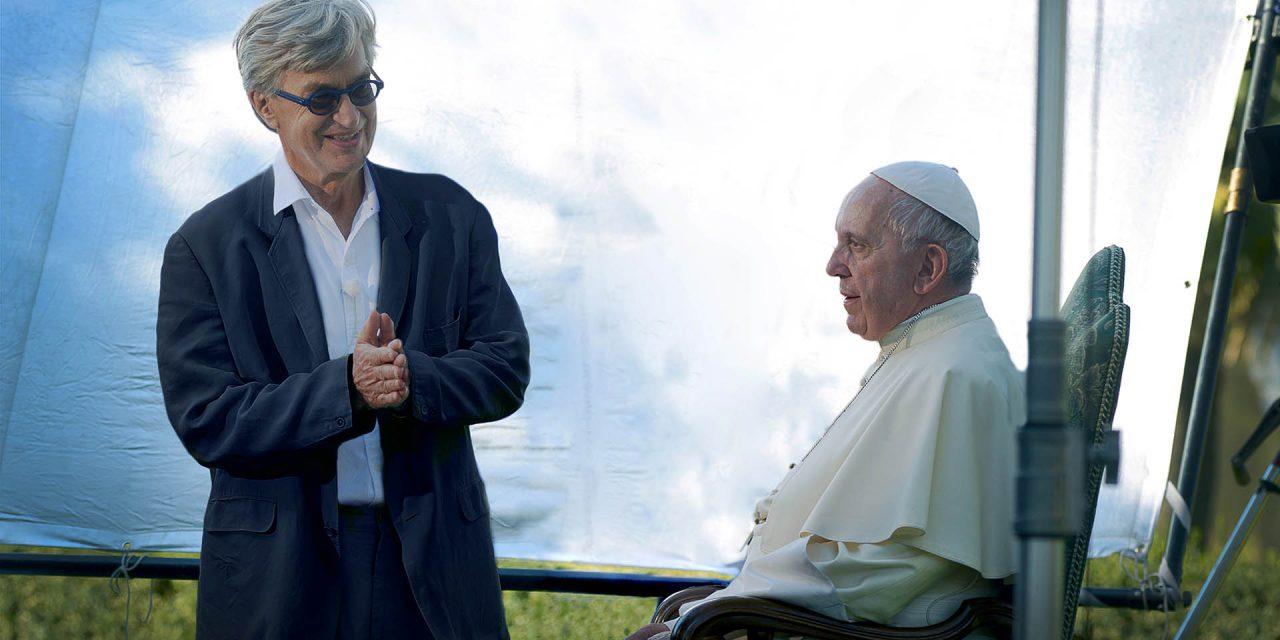 Un incontro per il film sul Papa