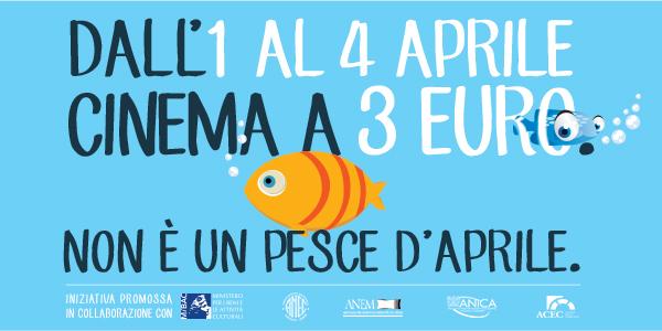 Il cinema a 3 euro!