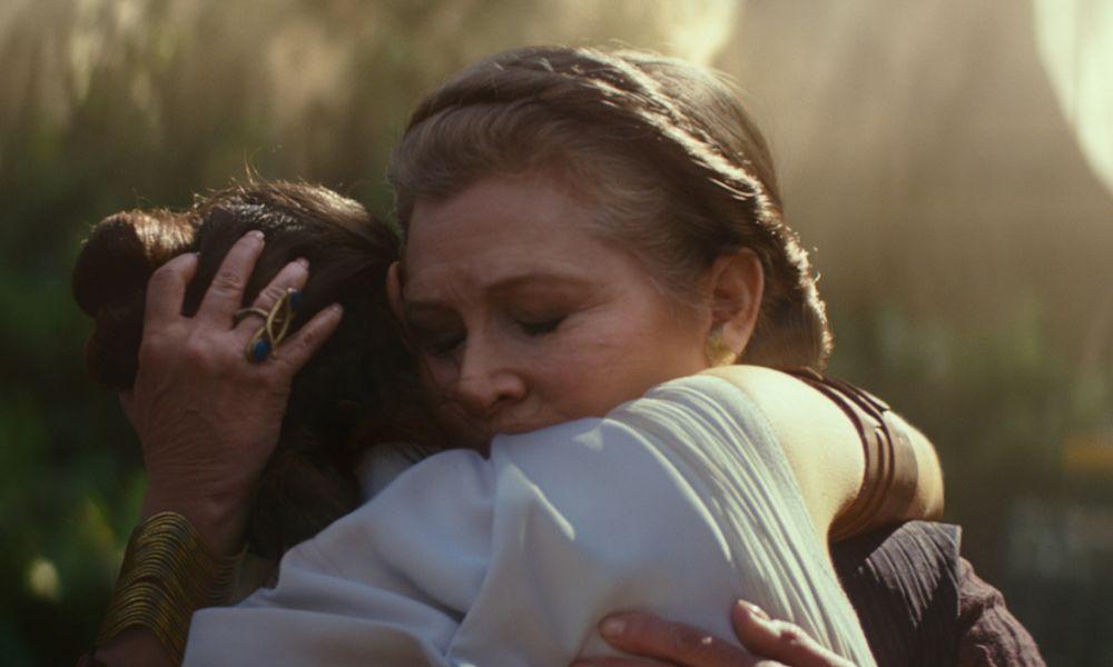 L'ascesa di Skywalker e il ritorno di Carrie Fisher