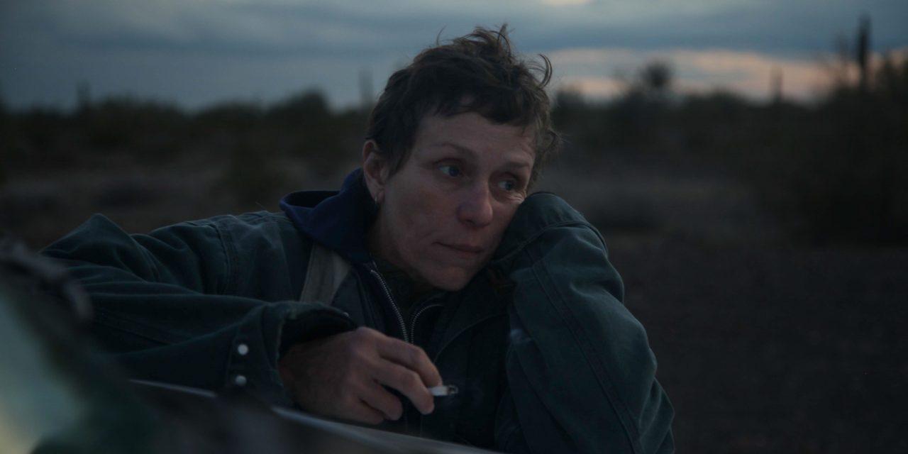 Pomeriggio al Gloria con l'Oscar di Nomadland